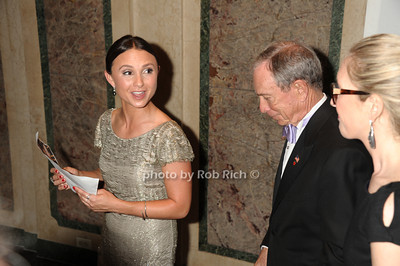 Georgina Bloomberg and Mayor Michael Bloomberg photo by Rob Rich/SocietyAllure.com © 2013 robwayne1@aol.com 516-676-3939