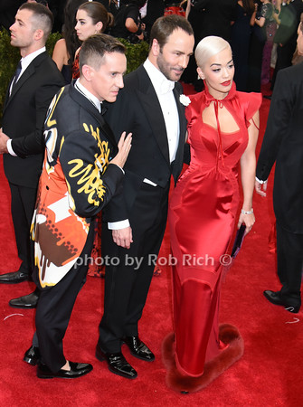 Jeremy Scott, Tom Ford, Rita Ora photo by Rob Rich/SocietyAllure.com © 2015 robwayne1@aol.com 516-676-3939