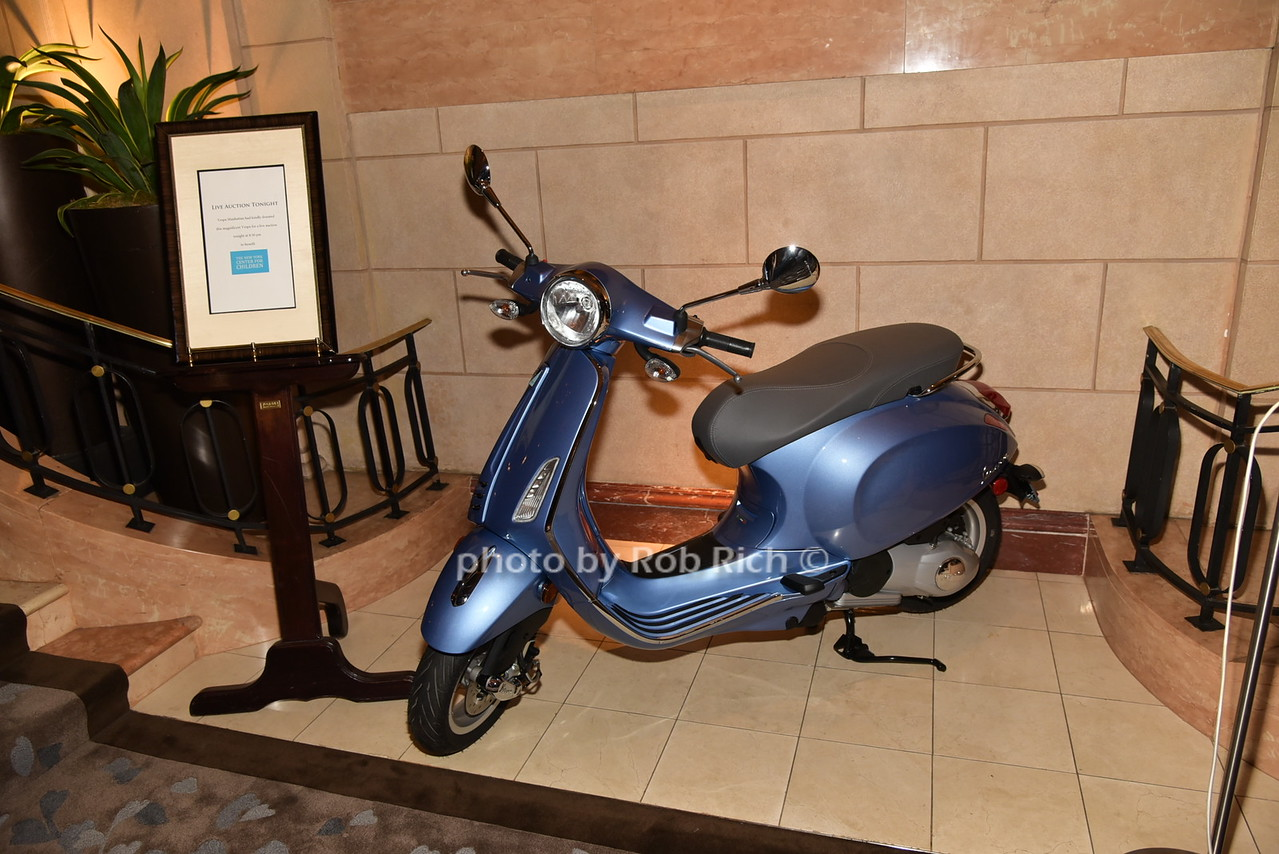 Vespa to be auctioned off