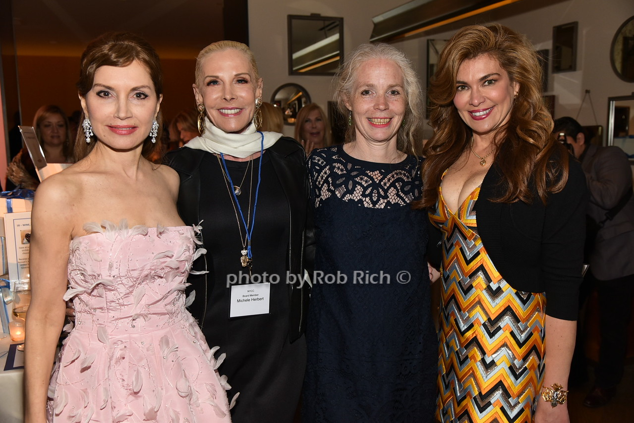Jean Shafiroff,Michele Herbert, Christine Crowther, Lauren Vernon