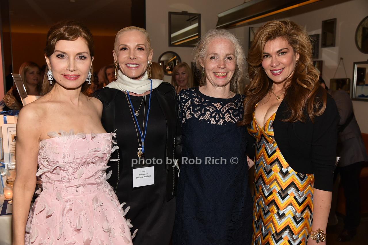 Jean Shafiroff,Michele Herbert, Christine Crowther, Lauren Vernonphoto by Rob Rich/SocietyAllure.com © 2016 robwayne1@aol.com 516-676-3939