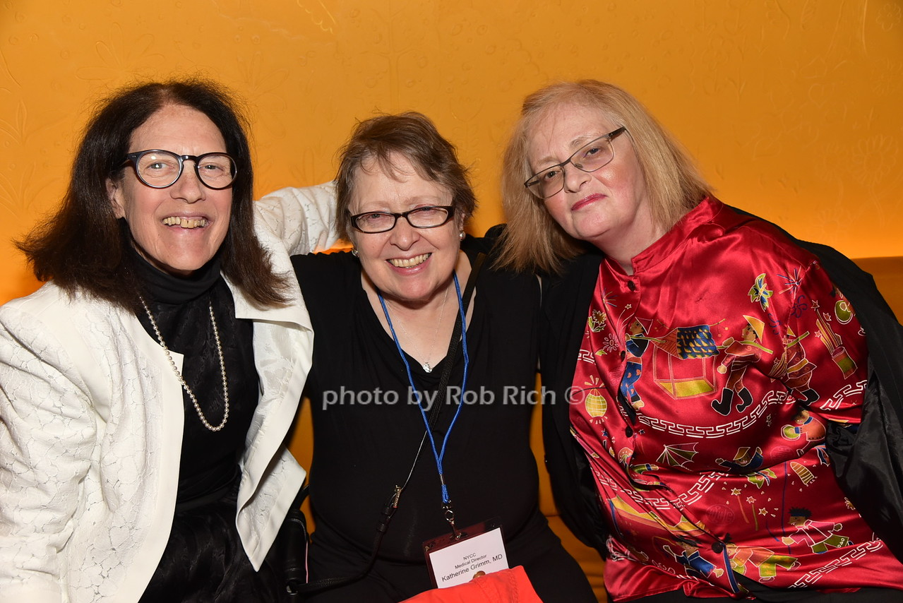Marilyn Schiller,Dr.Katherine Grimm, Christine Garcia
