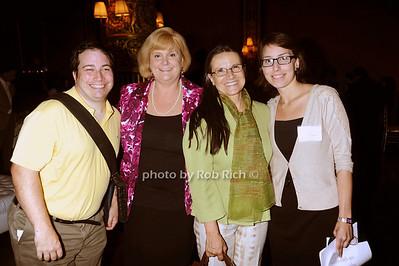 Steve McEvoy, Amy Bittinger, Houda Foster, Sandra Charry photo by Rob Rich © 2010 robwayne1@aol.com 516-676-3939