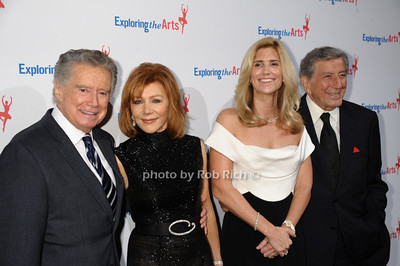 Regis Philbin, Joy Philbin, Susan Benedetto, Tony Bennett photo by Rob Rich/SocietyAllure.com © 2013 robwayne1@aol.com 516-676-3939