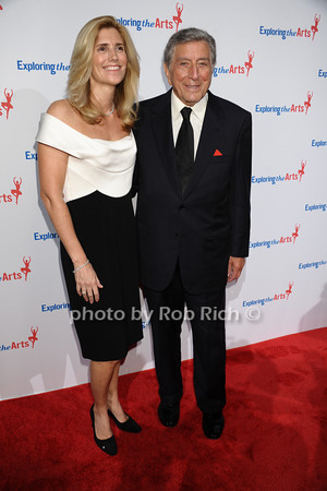 Susan Benedetto, Tony Bennett<br /> photo by Rob Rich/SocietyAllure.com © 2013 robwayne1@aol.com 516-676-3939