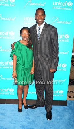 Rose Mutombo, Dikembe Mutombo photo by Rob Rich/SocietyAllure.com © 2011 robwayne1@aol.com 516-676-3939
