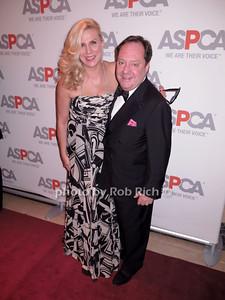 Margo McNabb Nederlander and James L. Nederlander