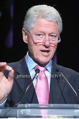 Bill Clinton speaking  at The Breast Cancer Research Foundation Luncheon at the Warldorf Astoria in Manhattan on 10-27-10.photo by Rob Rich © 2010 robwayne1@aol.com 516-676-3939