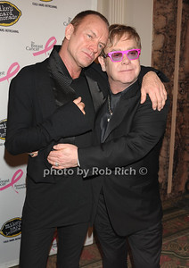 Sting, Elton John   photo by Rob Rich © 2011 robwayne1@aol.com 516-676-3939