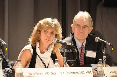 Laura J. Esserman, George W. Sledge photo by Rob Rich/SocietyAllure.com © 2011 robwayne1@aol.com 516-676-3939