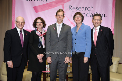 Dr. Larry Norton, Dr.Titia de Lange,  Dr.Robert Vonderheide, Dr. Nancy Davidson, and Dr.Clifford Hudis photo by Rob Rich/SocietyAllure.com © 2013 robwayne1@aol.com 516-676-3939