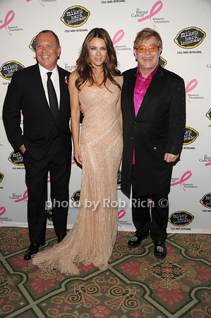 Michael Kors, Elizabeth Hurley, Sir Elton John photo by Rob Rich/SocietyAllure.com © 2012 robwayne1@aol.com 516-676-3939