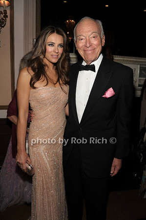 Elizabeth Hurley, Leonard Lauder photo by Rob Rich/SocietyAllure.com © 2012 robwayne1@aol.com 516-676-3939