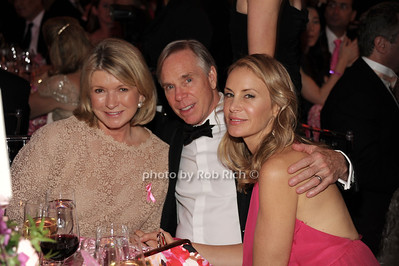 Martha Stewart, Tommy Hilfiger, Dee Ocleppo Hilfiger photo by Rob Rich/SocietyAllure.com © 2012 robwayne1@aol.com 516-676-3939
