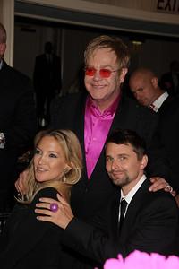 Kate Hudson, Elton John, and Matt Bellamy