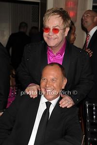 Elton John and Michael Kors