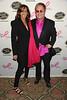 Donna Karan and Elton John
