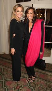 Kate Hudson and Donna Karan