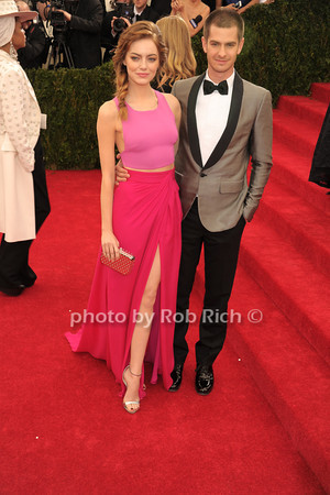Emma Stone and Andrew Garfield photo by Rob Rich © 2014 robwayne1@aol.com 516-676-3939