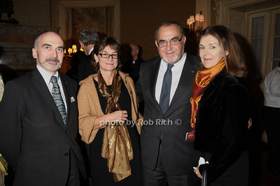 Antonio Benetti, Maria Theresa Cometto, Benardo  Paradiso, Loise Paradiso photo by Rob Rich/SocietyAllure.com © 2011 robwayne1@aol.com 516-676-3939