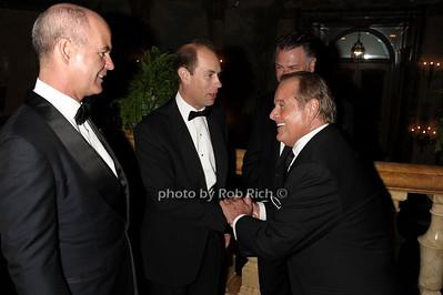 Greg Belton, HRH THe Prince Edward, Mark Standish, Rod Gilbert photo by Rob Rich © 2011 robwayne1@aol.com 516-676-3939