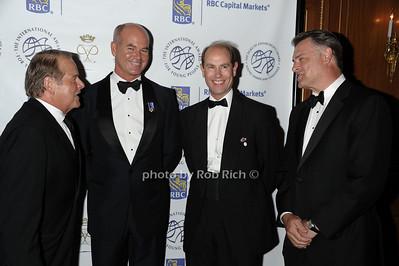 Rod Gilbert, Greg Belton , HRH THe Prince Edward, Mark Standish  photo by Rob Rich © 2011 robwayne1@aol.com 516-676-3939
