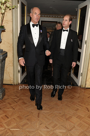 Greg Belton, HRH THe Prince Edward photo by Rob Rich © 2011 robwayne1@aol.com 516-676-3939