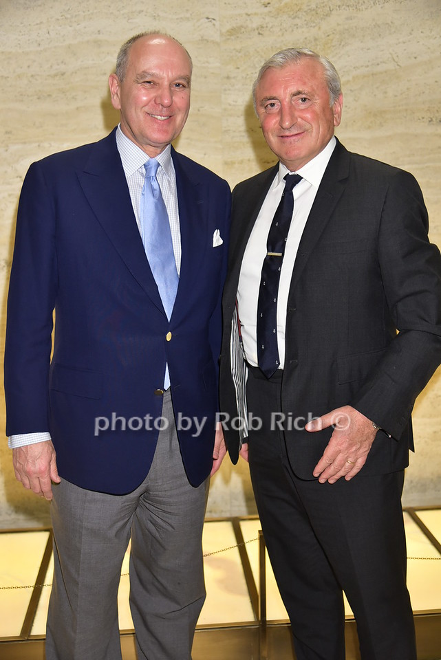 Alex von Bidder, Julian Niccolini (owners of Four Seasons restaurant)