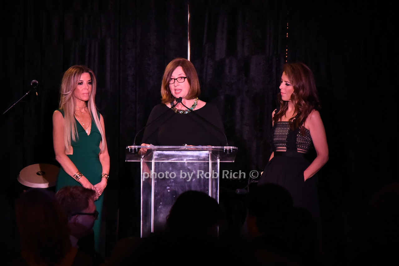 Stefani Greenfield, Victoria Leacock Hoffman,and Dini von Mueffling