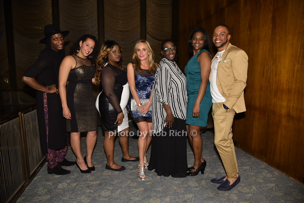 Jah Love Serrano, Sara Birnel Henderson, Sonja Morgan, Kimberly Canady, Niko Flowers, Moya Brown, KareemYoungbloood