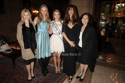 Judy Gilbert, Ulrika Nillsson, Danielle Doty Miss Teen USA 2011, Carole Alt, Kedaki Lipton photo by Rob Rich/SocietyAllure.com © 2012 robwayne1@aol.com 516-676-3939
