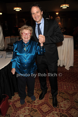 Dr.Ruth Westheimer, David Hryck photo by Rob Rich/SocietyAllure.com © 2012 robwayne1@aol.com 516-676-3939