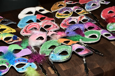 masks made by children of CDCH photo by Rob Rich/SocietyAllure.com © 2015 robwayne1@aol.com 516-676-3939