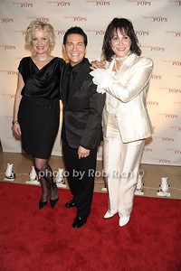 Christine Ebersole, Michael Feinstein, Michele Lee  photo  by Rob Rich © 2011 robwayne1@aol.com 516-676-3939