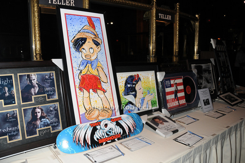 silent auction items<br />  photo by Rob Rich © 2011 robwayne1@aol.com 516-676-3939