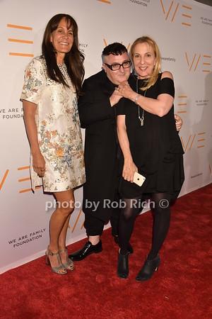 Julie Gilhart, Alber Elbaz (fashion designer), Susan Cohn Rockefeller photo by Rob Rich/SocietyAllure.com © 2016 robwayne1@aol.com 516-676-3939