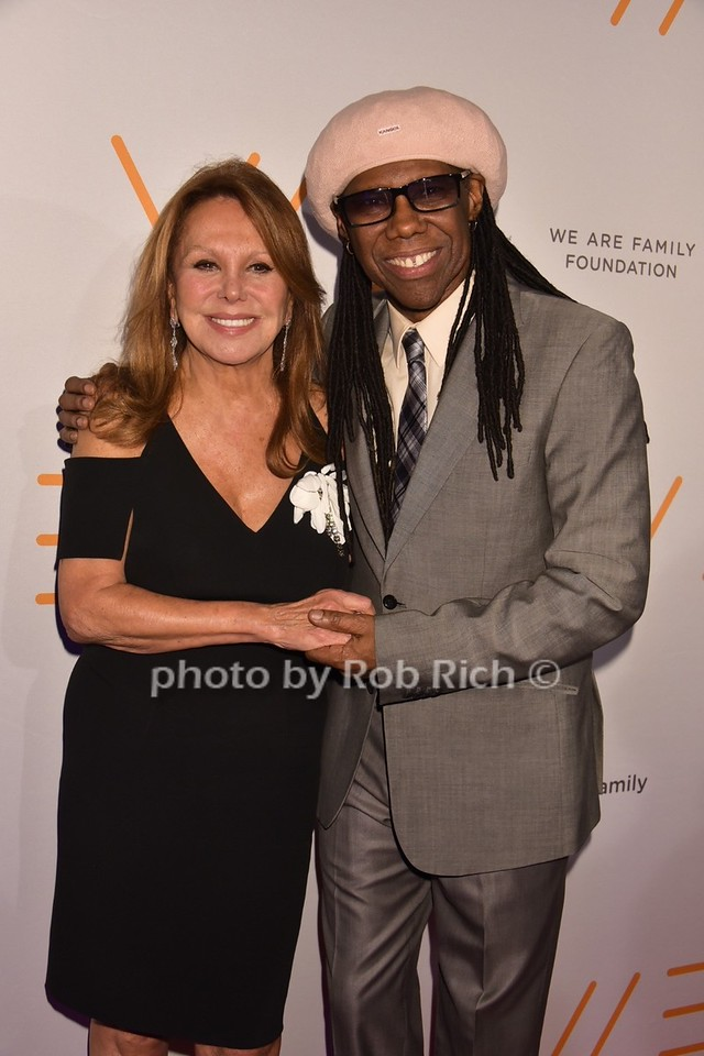 Marlo Thomas, Nile Rodgers