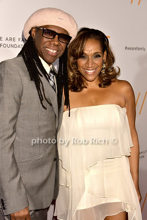 Nile Rodgers, Kathy Sledge (Sister Sledge) photo by Rob Rich/SocietyAllure.com © 2016 robwayne1@aol.com 516-676-3939