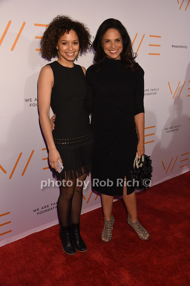 Antonyha (niece), Soledad O'Brien photo by Rob Rich/SocietyAllure.com © 2016 robwayne1@aol.com 516-676-3939