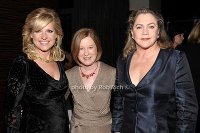 Mindy Grossman, Julie Crosby, Kathleen Turner photo by Rob Rich © 2011 robwayne1@aol.com 516-676-3939