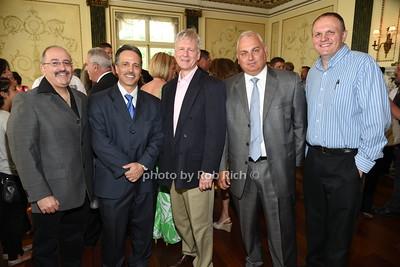 David Shimshi, Martin Morales, Michael Falcon, Chris McDonald, Patrick Duggan  photo by Rob Rich/SocietyAllure.com © 2015 robwayne1@aol.com 516-676-3939