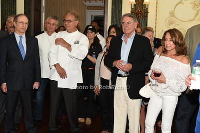 Leonard Aubrey, Robert Rizzuto , Christain Mir, John Gutleber, Fran Gutleber photo by Rob Rich/SocietyAllure.com © 2015 robwayne1@aol.com 516-676-3939