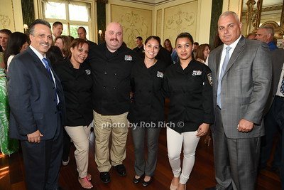 Martin Morales, Mariel Colon, Michael Kleber, Tatiana Paulovici, Maria Marte, Michael Falcon  photo by Rob Rich/SocietyAllure.com © 2015 robwayne1@aol.com 516-676-3939
