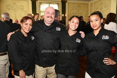 Maribel Colon, Michael Kleber, Tatiana Paulovici, Maria Marte  photo by Rob Rich/SocietyAllure.com © 2015 robwayne1@aol.com 516-676-3939