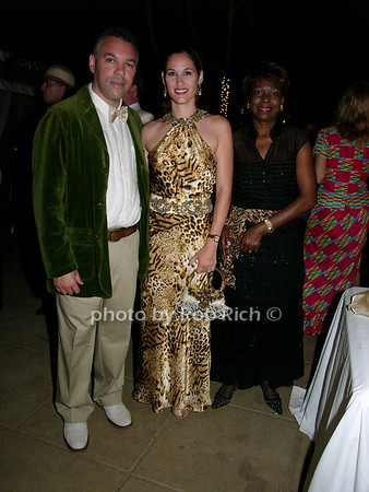 Peter Bovell, Donnia Bovell and First Lady Lorna Golding