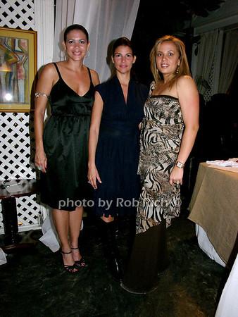 Michelle Rouseau, Sandra Bicknell, Dominique Peterkin