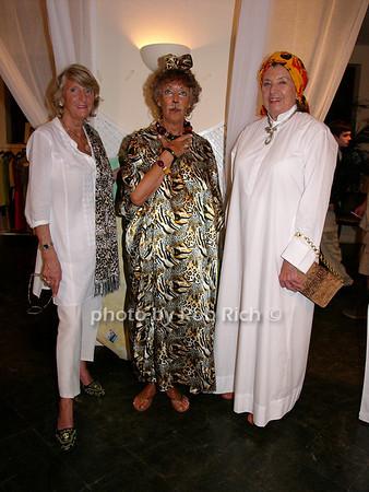 Kirstina Von Merveldt, Ann Delisser and Dorothy Puelicher