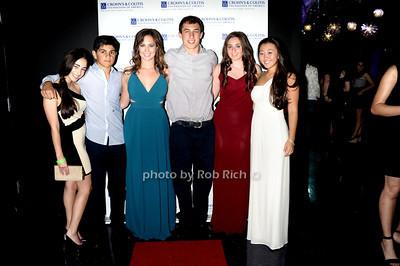 Melissa Trager, Anthony Cirillo, Ashley Modell, Cameron Klein, Samatha Pittel, Taylor Kang  photo by Rob Rich © 2011 robwayne1@aol.com 516-676-3939