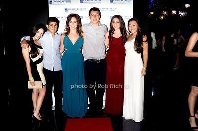 Melissa Trager, Anthony Cirillo, Ashley Modell, Cameron Klein, Samatha Pittel, Taylor Kand  photo by Rob Rich © 2011 robwayne1@aol.com 516-676-3939