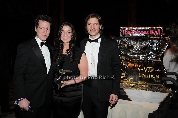 HRH Prince Philip of Serbia,Lily Flast, Charles Ferri<br /> photo by Rob Rich © 2010 robwayne1@aol.com 516-676-3939